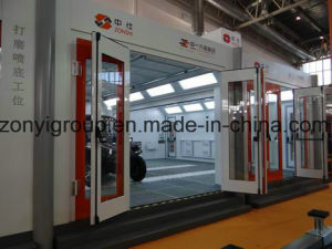 Spray Booth Ce ISO Spray Booth TUV Booth pictures & photos