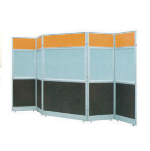 Aluminum Hospital Hotel Wheels Mobile Folding Partition (NS-NW133) pictures & photos