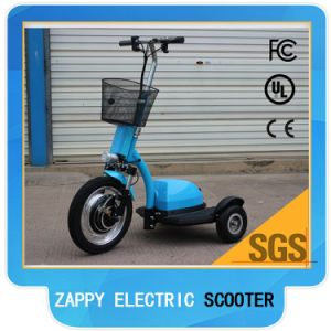 Yes Foldable and 48V Voltage 3 Wheel Electric Scooter pictures & photos