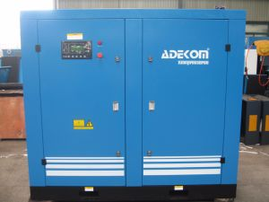 Water Cooled Rotary Lubricated Industrial Screw Air Compressor (KD75-13) pictures & photos