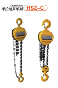 HSZ Serial Lifting Chain Hoist pictures & photos