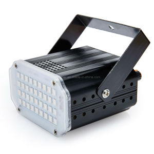 New LED Strobe Light for DJ 36 PCS LED SMD 5050 RGB Strobe Party Stage Light with Sound Auto Control Mode pictures & photos