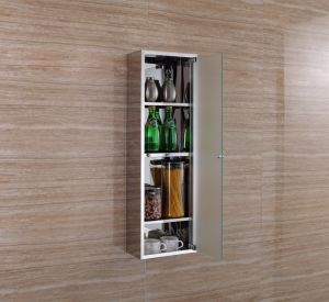 High Quality Stainless Steel Living Room Storage Cabinet 7029 pictures & photos