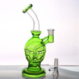 Fashion Green Smoking Pipes Glass Water Pipes Oil Rigs Pipes pictures & photos