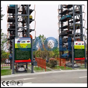 Gaoli Pcxld-7 Rotary Automated Parking System pictures & photos