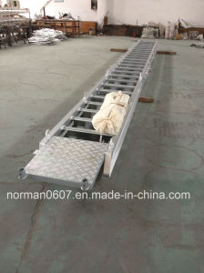 Aluminum Accomodation Ladder for Sale, Marine Gangway, Wharf Ladder