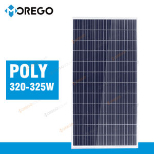 Green Energy Morego Solar Panel 36V 320W 325W with Cheapest Price pictures & photos