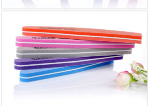 Sponge Nail Art Tips Buffer 100/180 Sanding Files Manicure Tool pictures & photos