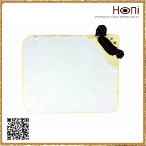 D-033 Cotton Small Bath Terry Hooded Towel