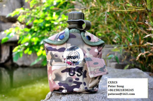 Manufacturer on Army Camouflage Canteen Military Water Bottle pictures & photos