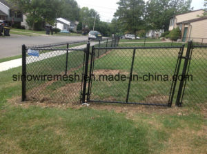 Protected Products PVC Coated Chain Link Fence for Ball Park pictures & photos