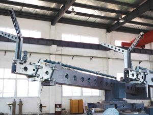 Telescopic Jib Building Cleaning Machine Bmu pictures & photos