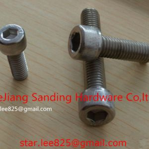 Carbon Steel Gr8 Zinc Plated DIN912 Hex Socket Bolt pictures & photos