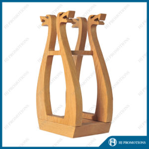 Viking Style Wooden Box for Liquor Bottle (HJ-PWTY01) pictures & photos