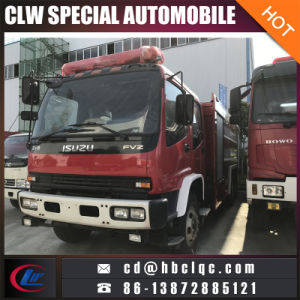 Hot China New Isuzu 8t Water Fire Vehicle Fire Extinguish Truck pictures & photos