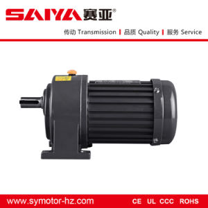 1#Gearbox with Shaft Diameter 18mm Single-Phase Motor pictures & photos