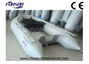 CE Approved Inflatable Boat with Aluminum Floor (FWS-A270) pictures & photos
