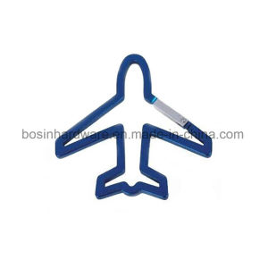 Airplane Shaped Aluminum Carabiner Keyring pictures & photos