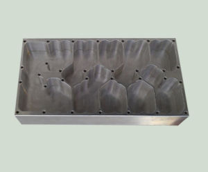 Aluminum CNC Machined Casing Clear Anodized