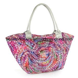 Composite Cloth Printing Handbag Fashion Colorful High-Capacity Ladies Handbag BPS041