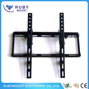 Black Tilted LCD/LED Flat Panel TV Wall Mount pictures & photos