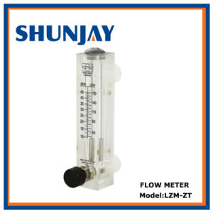 Plastic Panel Water Flow Meter with Valve