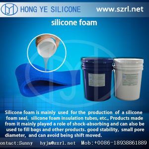 Styrofoam Silicone Foam Rubber for Filling pictures & photos