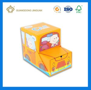 Car Shape Happy Cute Paper Toy Packing Box (As custom design) pictures & photos