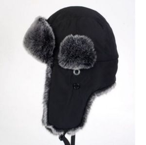 Winter Faux Fur Trapper Hat for Men pictures & photos