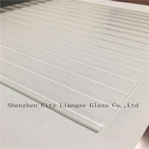 3mm-8mm Rolled Glass/Figured Glass with Wavelet Wave Pattern for Decoration pictures & photos