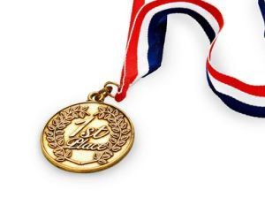 High Quality Custom Beautiful Sports Gold Medal with Lanyard pictures & photos