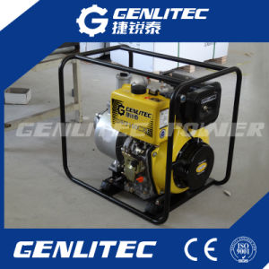 Electric/Key Start 4inch Diesel Water Pump pictures & photos