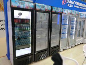 2017 Canton Fair New Showcase Cooler for Stores, Supermarket, Beverage Manufacturer