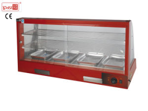 Electric Food Warmer Showcase/Hot Food Showcase/Used Food Warmer for Catering pictures & photos