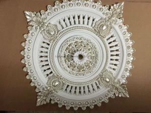 Artistic PU Ceiling Medallions for Building Decoration pictures & photos