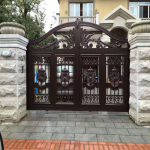 6063 T6 Aluminum Gate for Courtyard and Garden pictures & photos