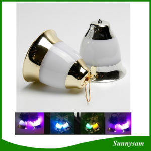 Sound Sensor Jingle Bell LED Light with Music for Christmas Tree Decoration pictures & photos