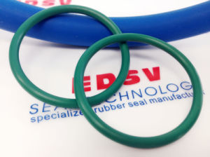 Blue Silicone Vmq Si FDA O Ring pictures & photos