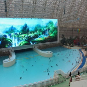 Indoor P4 High Resolution Video LED Display pictures & photos