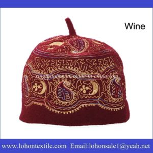 Muslim Hat Set Hijab Hat by Embrodiery Pattern Wool Felt Material