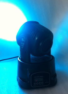 Small 18X3watt RGB LED Wash Moving Head Light with Ce pictures & photos