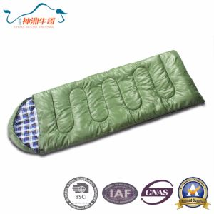 Hot Selling Warm Envelope Sleeping Bag for Camping