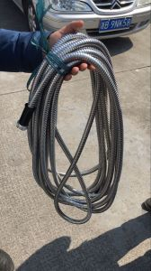 25FT 304 Stainless Steel Gardon Hosewith Nozzle Head pictures & photos