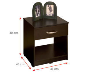 Wooden Wardrobe /Nightstands /Shoes Case /Side Cabinet (HX-DR145) pictures & photos