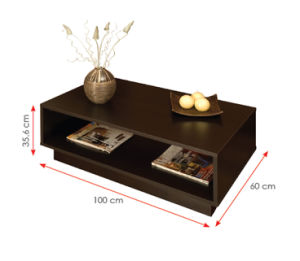 Modern Living Room Furniture Wooden Coffee Table (HX-DR010) pictures & photos