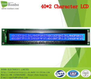 40X2 COB Character LCM Screen, MCU 8bit, Stn LCD Panel, FSTN LCM Monitor pictures & photos