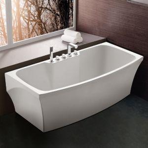 Wholesale Manufacturer Bathroom Freestanding Acrylic Bathtub pictures & photos