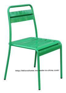 Modern Replica Dining Restaurant Stackable Metal Chairs pictures & photos