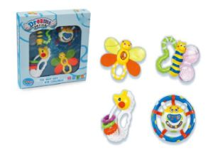 Kids Plastic Educational Rattles Baby Toy pictures & photos