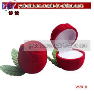 Valentines Rose Ring Earring Box for Valentine′s Day (W2010) pictures & photos